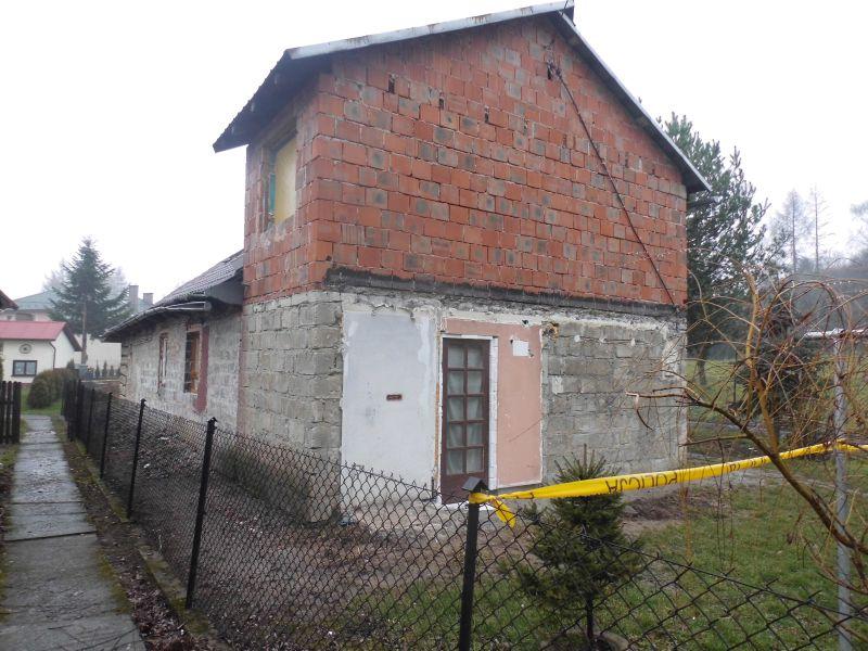 Tuchów Budynek , w którym doszło do tragedii 2